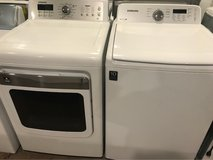 Samsung washer and dryer electric in Cleveland, Texas