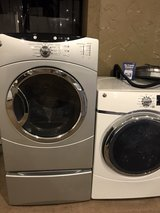 Name brand front load dryers electric in Houston, Texas