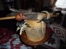 Native American Drum & Peace Pipes in Cleveland, Texas