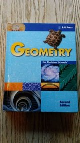 BJU Press Geometry Hardcover Student Textbook Second Edition in Naperville, Illinois