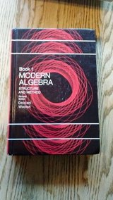 Modern Algebra Structure and Method Book 1 Revised Edition by Dolciani and Wooton in Naperville, Illinois