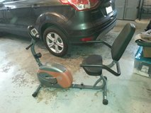 recumbant exercise bike by Marcy in Westmont, Illinois