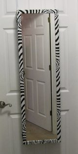 Jewelry Holder Armoire Over The Door Mirror Cabinet in Fort Campbell, Kentucky