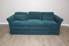 Emerald Green Mid Century sofa in Spring, Texas