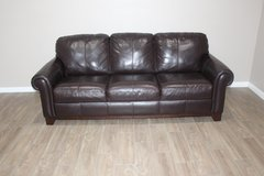 leather Sofa- Brown in Spring, Texas