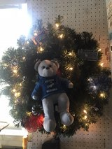 LA Dodgers Christmas Wreath in Yucca Valley, California