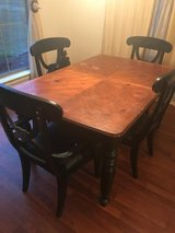 Dining Room Table and Chairs in DeRidder, Louisiana