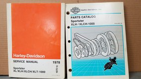 Harley Davidson parts and service manuals in St. Charles, Illinois