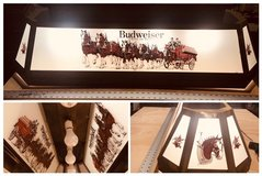 Anheuser Busch Clydesdale Pool Table light in Naperville, Illinois