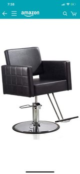 Salon chair in Naperville, Illinois