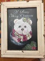 LARGE CHRISTMAS CHALKBOARD PAINTING in Westmont, Illinois