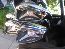 Men's RH Taylormade Burner golf set w/Ping or Odyssey putter Ogio Bag in Fort Bliss, Texas