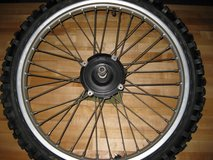 HONDA CR 250 FRONT WHEEL ASSEMBLY in Yucca Valley, California