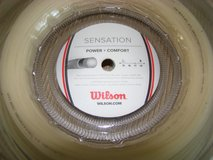 Wilson Sensation 17 gauge Tennis Racquet String/Reel in Camp Pendleton, California