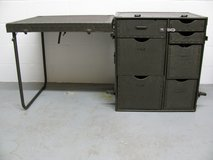 Vintage U.S. G.I. Military Portable FIELD DESK Army Headquarters Excellent in Fort Campbell, Kentucky