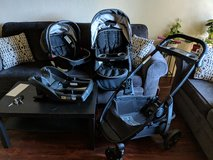 Graco Stroller, Car seat & 2 car seat bases in Fairfield, California