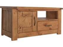 Solid wood TV Unit in Lakenheath, UK