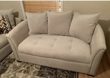 REDUCED ***MINT COND. 3 pc Sofa, chaise lounge, and ottoman in Houston, Texas