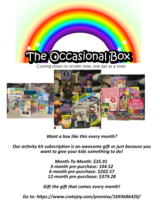 Kids Monthly Activity Kit Subscription! in Oceanside, California