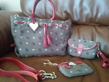 Dooney and Bourke 3 pc bundle in St. Charles, Illinois