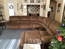Recliner sofa sectional with chase lounger in Las Vegas, Nevada