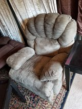 soft microsuede,plush charcoal grey recliner - $50 in Clarksville, Tennessee