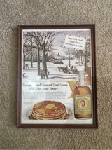 Vermont Maid Syrup advertisement in Glendale Heights, Illinois
