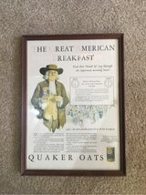 Quaker Oats advertisement in Glendale Heights, Illinois