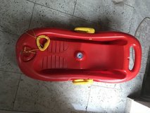 Child Plastic Sled in Ramstein, Germany