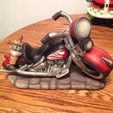 Motorcycle Wine Bottle Holder with Topper in Travis AFB, California