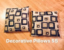 Pillows in Fort Drum, New York