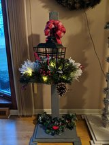 Christmas Lantern with post in Orland Park, Illinois