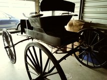 One horse buggy carriage wagon in Travis AFB, California