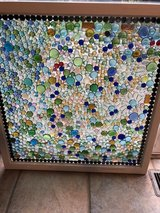 window up cycled into stain glass in Plainfield, Illinois