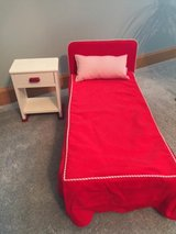 "American Girl ""Molly"" (Retired) Bed and Nightstand in Bolingbrook, Illinois"