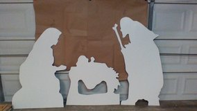3 individual pieces Nativity in Kingwood, Texas
