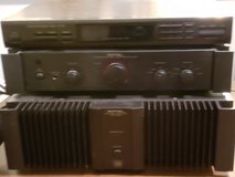 Rotel 200 watt 2 channel Amp and Rotel Pre-Amp in Houston, Texas