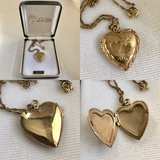 Vintage Heart Locket - Valentines is coming! in Glendale Heights, Illinois