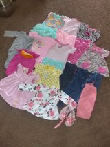 Baby girl clothes lot size 6-9 months summer in Yucca Valley, California