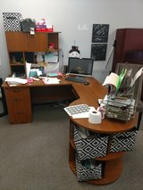 Large office desk in Travis AFB, California