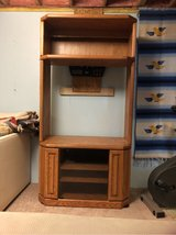 Oak Entertainment Cabinet in Westmont, Illinois