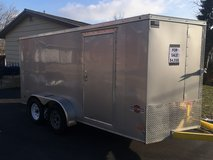 Trailer, 14' Enclosed in Aurora, Illinois