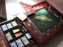 Monopoly 1991 Franklin Mint Collectors Edition in Bolingbrook, Illinois
