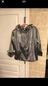 Silver evening top. Size 14 in Bolingbrook, Illinois