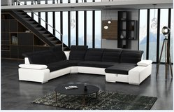Venice Sectional #2 with Bed and Storage Chaise including delivery - available in other colors in Stuttgart, GE
