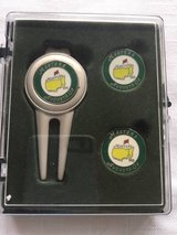 Masters Tournament Divot Tool and Golf Ball Markers in Cherry Point, North Carolina