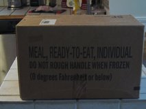 MREs (meals ready to eat) Box A Menu 1-12 in Beaufort, South Carolina