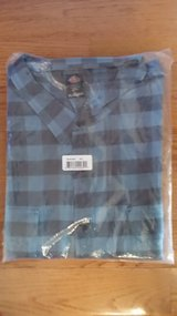 NWT - SHIRT - 4XL Men's Relaxed Fit Blue Buffalo Plaid in Westmont, Illinois