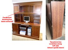 FREE Desk with hutch - turn it into a craft storage table! in Waukegan, Illinois