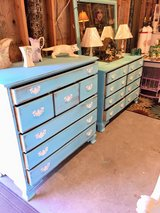 matching pair antique dressers in Cherry Point, North Carolina